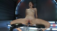 Long-Legs-Firey-Red-Hair-Milky-Skin-and-Machines-fucking-Her-Pussy
