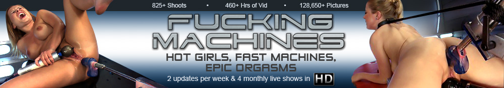 Fucking Machines - Hot Girls, Fast Machines, Epic Orgasms